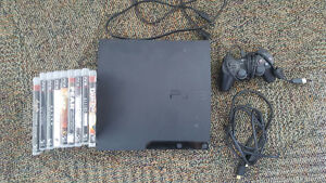 160 GB PS3 w/ controller & games