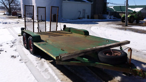 14ft steel trailer