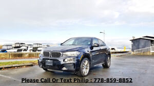 2015 BMW X6 50i, Premium, M Sport, Bang and Olufsen
