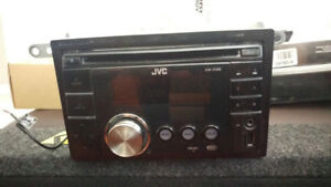 JVC KW-XS68 CD/MP3 Receiver front Aux Input