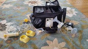 Medela travel breast pump + kit - $170