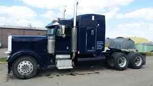 Peterbilt 379 long nose truck