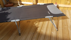 Outwell folding camping bed.