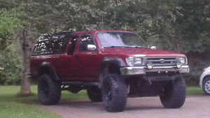 Lifted 1992 Toyota Pickup Truck