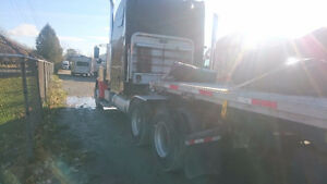 Freightliner and load King flatbed London Ontario image 3