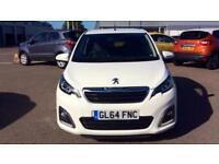 2014 Peugeot 108 1.2 VTi Allure 5dr Manual Petrol Hatchback