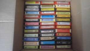 70 8-tracks for sale mostly country some rock