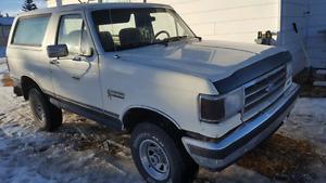 1988 ford bronco 4x4