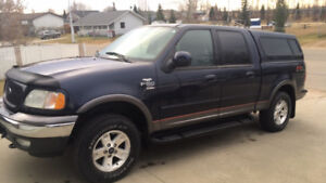2003 Ford F-150 XLT FX4 Crew 4x4 One Owner