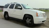 "2007 GMC Yukon SLT SUV, loaded 7 pas, 24""Rims, Financing, Trades"