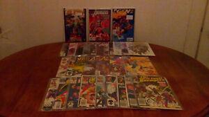 Small lot over 30 comics,NEW AVENGERS,W.C.AVENGERS,INVADERS