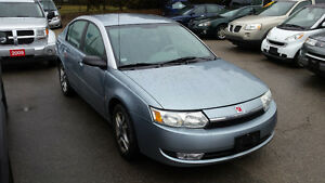 03 saturn ion only 103.000km safety and e-test included
