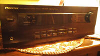 PIONEER AM/FM/RECEIVER , HOME AMP.LOTS OF POWER FROM A GREAT AMP