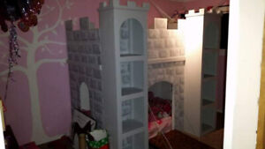 Kids castle bed/play house