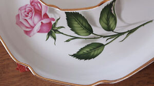 """Queen of Roses"""" Pieces of Georgian China Set"""