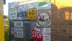 SIGNS/SIGNS AND MORE SIGNS also many other collectables