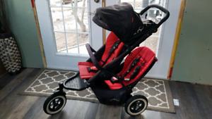 Phil and teds dot double stroller