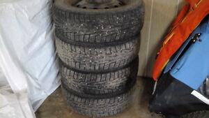 Set of Nokian Hakepelletta winter tires