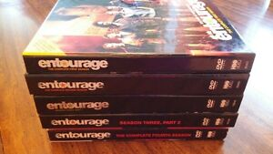 Entourage - Season 1-5 with part 1 & 2