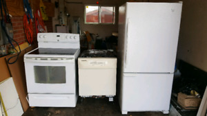 FRIDGE/STOVE/DISHWASHER
