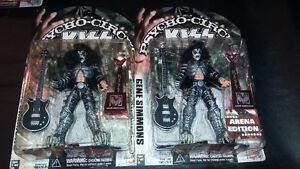FIVE KISS PSYCHO CIRCUS FIGURES MINT IN PACKAGE