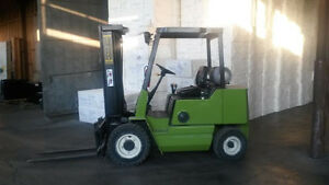 5000 lbs Clark Propane Lift Truck with Pneumatic tires