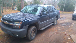 Chevrolet Avalanche Pickup Truck