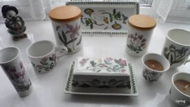 Portmeirion Selection of Botanical China - all unused apart from cruet