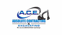 Excavating Needed? Septic Issues? Wet Basement? CALL US!