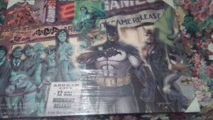 """RARE LIMITED EDITION PRINT-EB GAMES """"ARKHAM CITY"""" GAME RELEASE"""