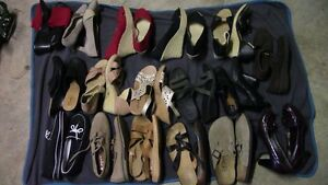 Huge quantity size 11 shoes, mostly new, Clarks, Mephisto