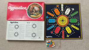 MINT VINTAGE Lakeside Leisure Deluxe Aggravation Boardgame 1970