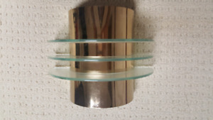 Gold Wall Sconces (Pair)