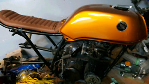 1973 Honda CB500 four with CB550 engine/tranny/clutch