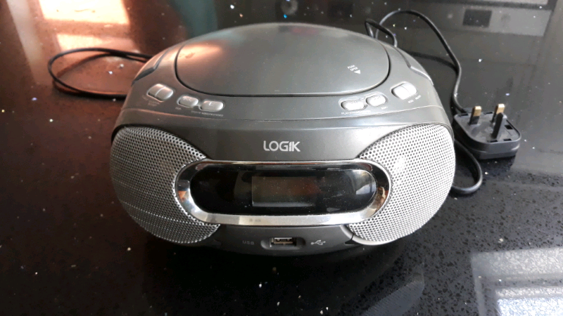 Logik Portable Radio Cd Player Usb In Roundhay West Yorkshire