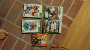 Games xbox 360 and ps3