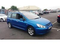 2003 03 PEUGEOT 307 SW ESTATE 2.0 16V SE AUTOMATIC.GREAT SPEC,PANARAMIC ROOF.