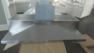 """Range Hood 36"""" Stainless Steel and Brand New"""