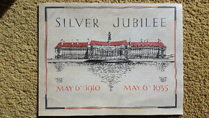 May 1910-1935 Silver Jubilee Message George V & Mary, Message