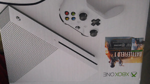 XBOX ONE S 500 GB + GAMES