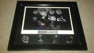Walt Disney world collector's coin set framed