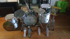Assortment of drums and parts