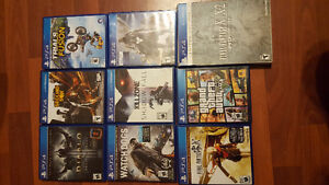 PS Vita and PS4 Games