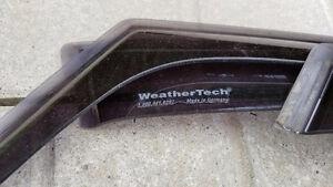 Déflecteur de fenetres avant arrière Weathertech pour RIO 5 port