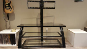 """65"""" Mounting  Glass TV Stand"""