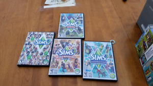 The Sims Games plus Expansions & Stuff Packs