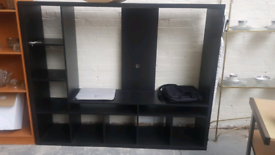 Ikea TV unit with storage space