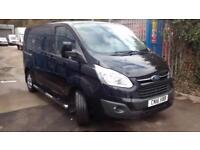 Ford Transit Custom 2.2TDCi Diesel (155PS) Limited Double Cab-in-Van 290 L1 SWB