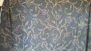 Blue & beige curtain for sale. Brand new!