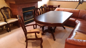 Dining set. Table and chairs